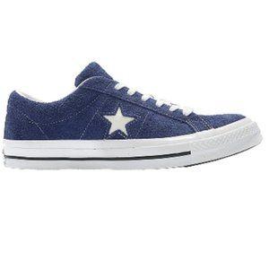 Converse One Star Ox Premium Suede DK BLUE 10/12